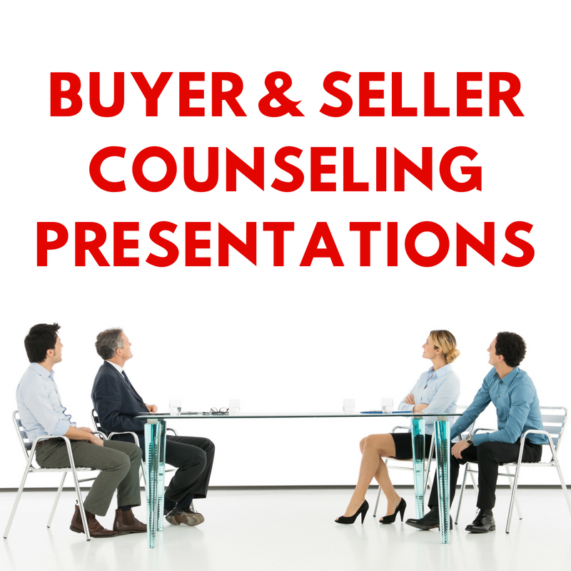 Buyer & Seller Counseling Presentation Bundle